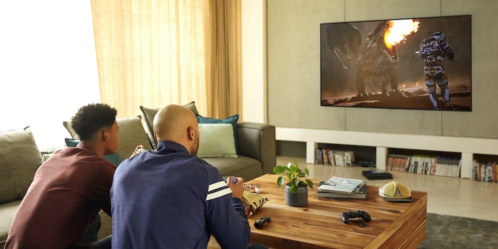 Disfruta de la tendencia de juegos retro en la nueva serie 2020 LG OLED TV