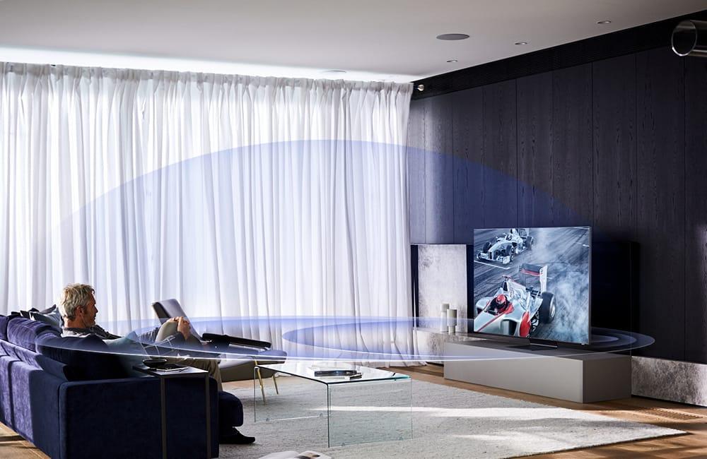 Nueva tecnología de sonido en la gama QLED 8K de Samsung 2020