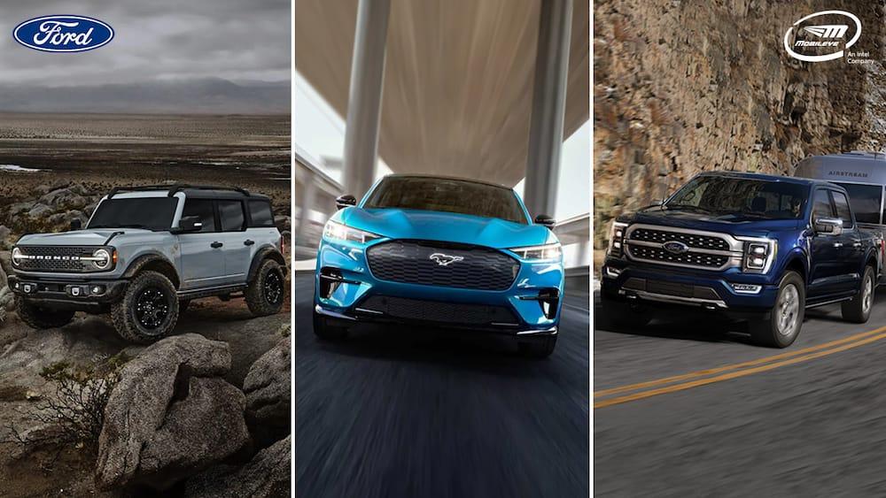 Ford e Intel mejoran tecnologías que previenen accidentes