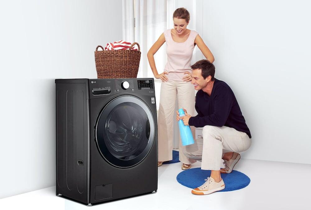 Beneficios de las lavadoras LG con inteligencia artificial