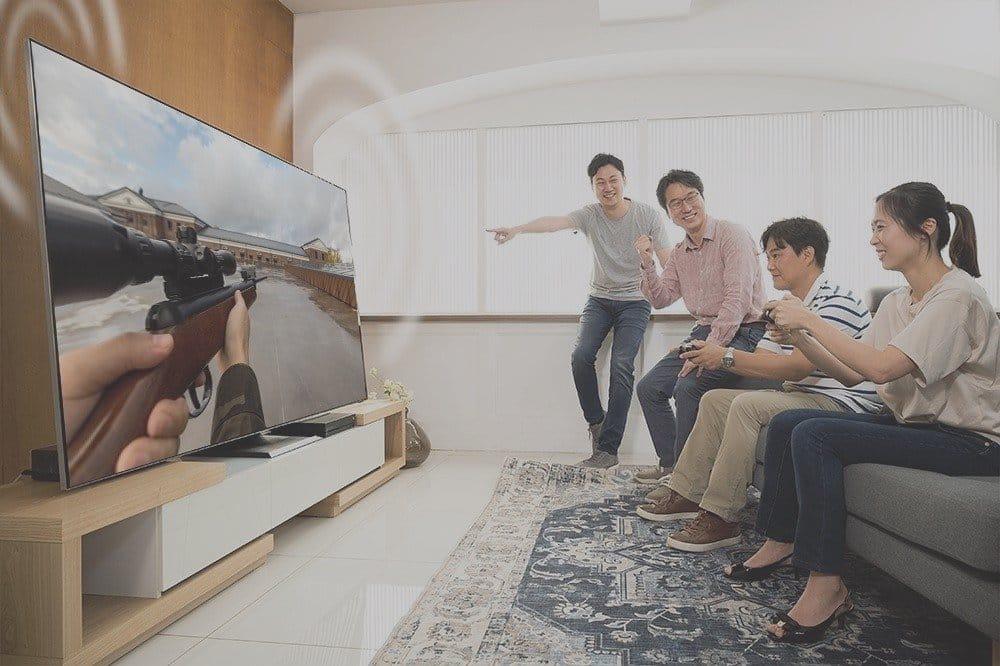 Samsung optimizó los televisores QLED para juegos de alto nivel