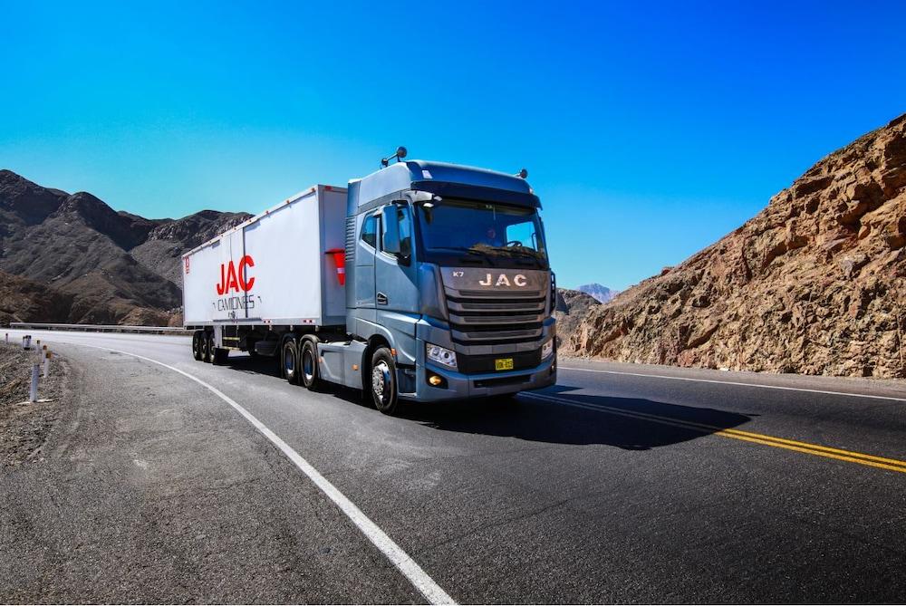 JAC Tracto K7: Camión con gran capacidad de arrastre llegó a Perú