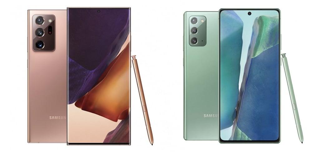 Funciones del Galaxy Note 20 redefinen el trabajo y el juego