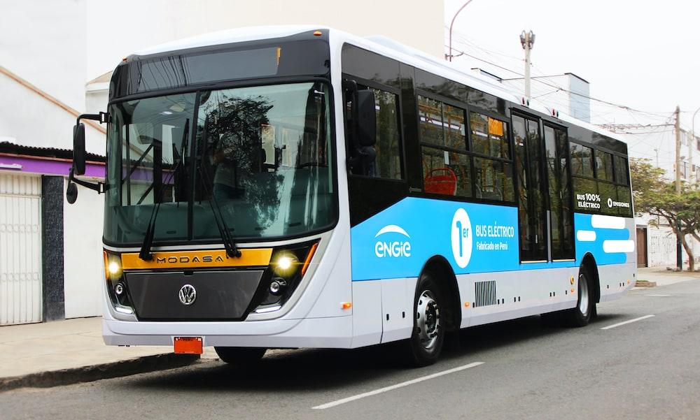 El primer bus 100% eléctrico hecho en Perú