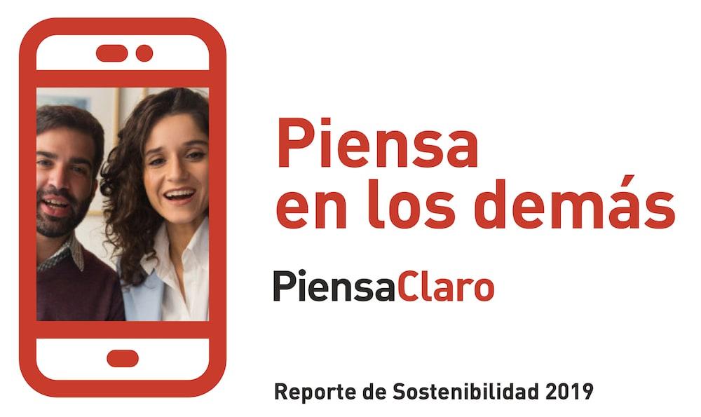 Reporte de Sostenibilidad 2019 de Claro Perú