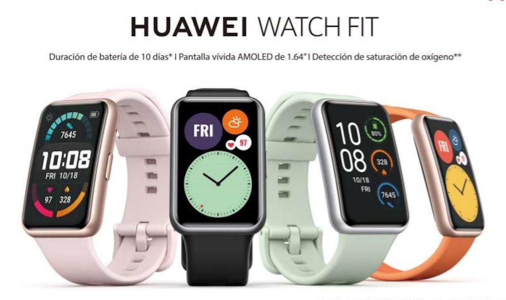 Llegó de forma oficial al Perú el Huawei Watch Fit