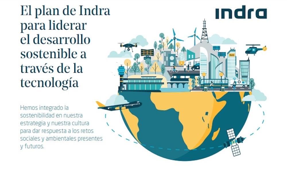 Indra asume los objetivos de cambio climático de la ONU