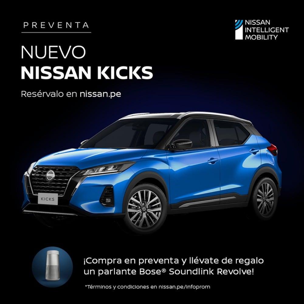 Nissan Perú anuncia la preventa del nuevo Nissan Kicks