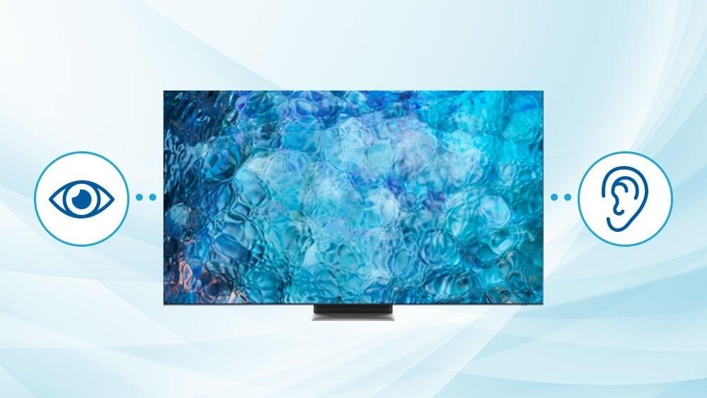Televisores Samsung 2021 con tecnología inclusiva