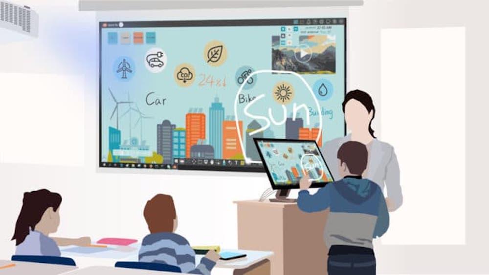 myViewBoard lidera la transformación educativa hacia el aprendizaje híbrido