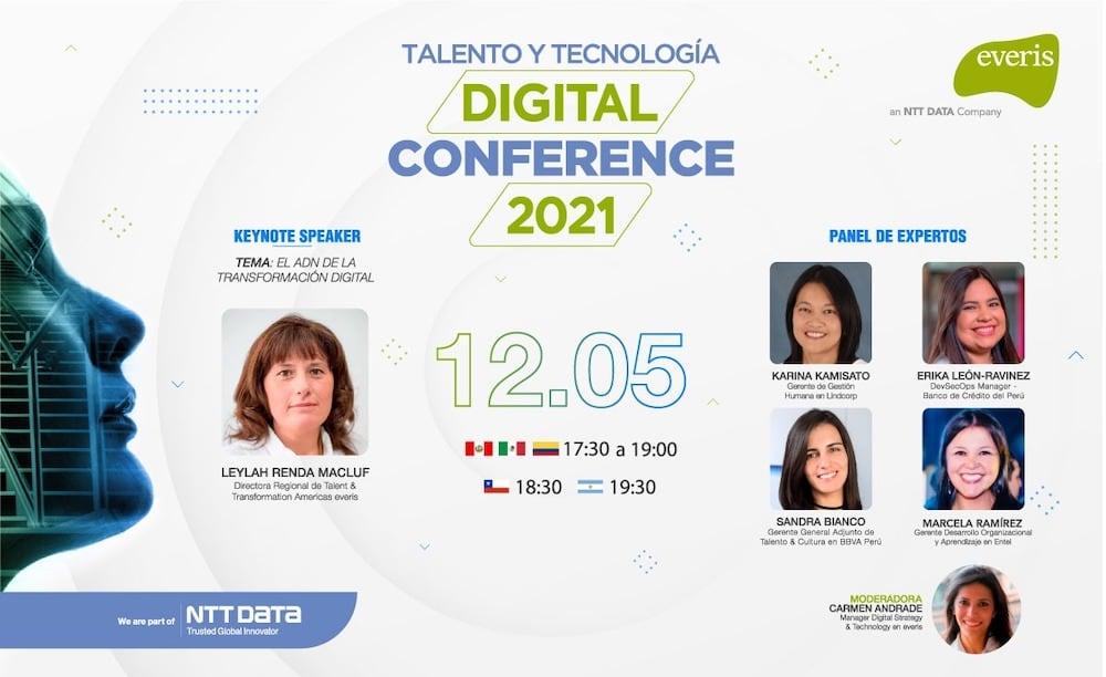 Everis NTT DATA: Talento y Tecnología, Digital Conference 2021