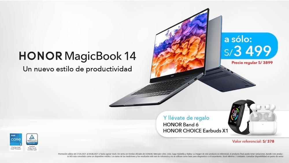 Lanzamiento de HONOR MagicBook 14 en Perú