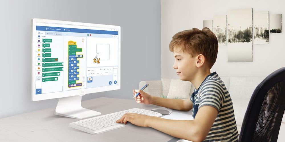 ¿Cómo pueden los niños iniciarse en programación?