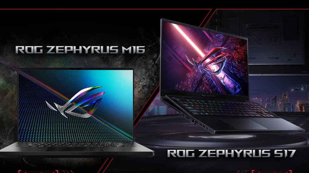 Nuevos portátiles Gaming ROG Zephyrus S17 y Zephyrus M16