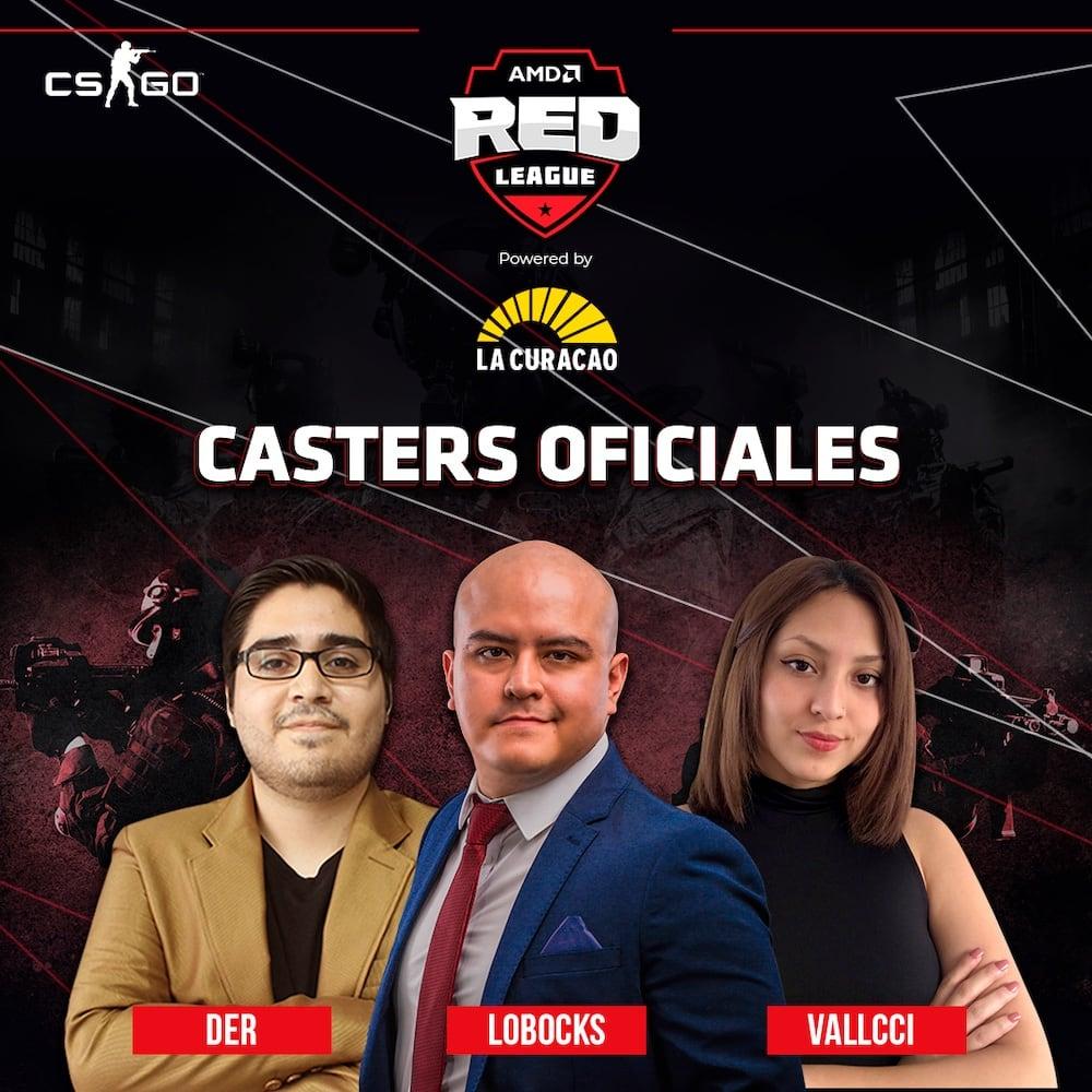 AMD Mobile: Torneo de CS:GO de la AMD Red League