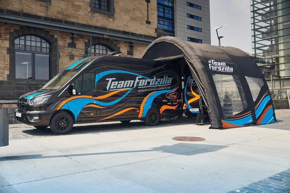 Team Fordzilla inicia su viaje por Europa con 'Gaming Transit'