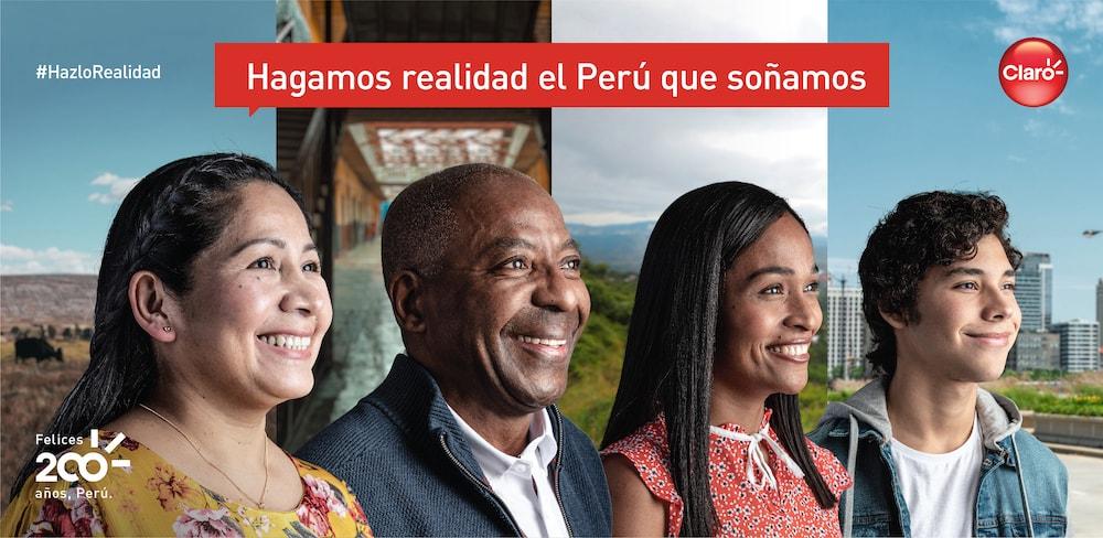 Claro regala al Perú una canción por el Bicentenario de su Independencia