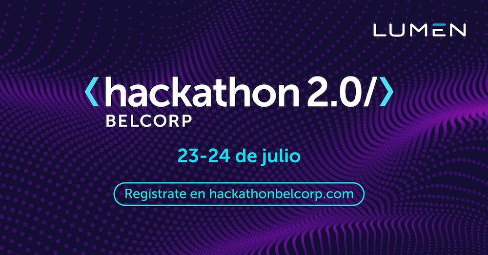 Lumen apoya la Hackaton de Belcorp