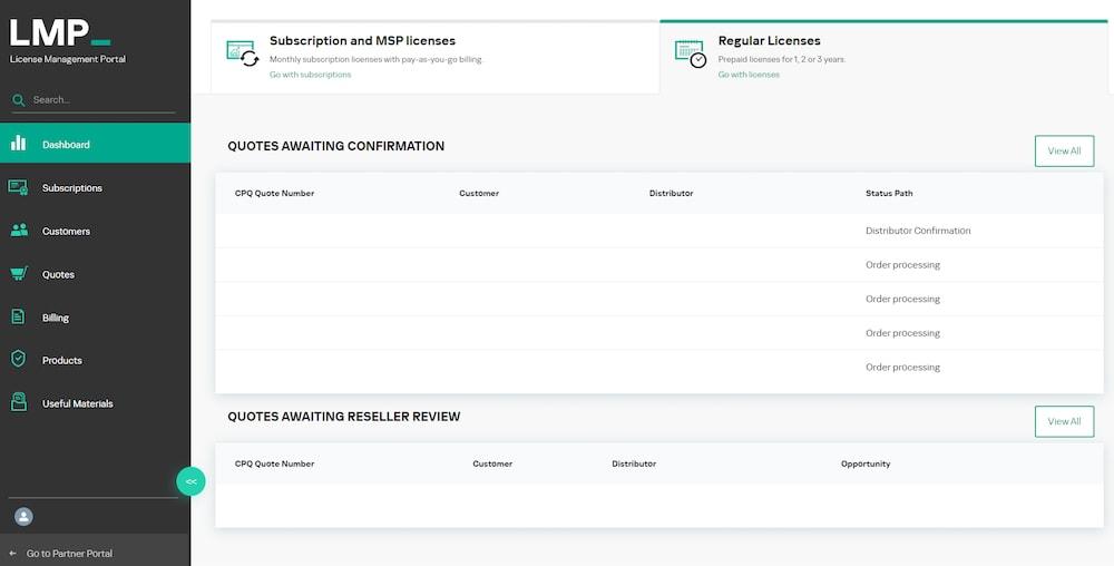 Kaspersky acelera los pedidos de licencias anualizadas