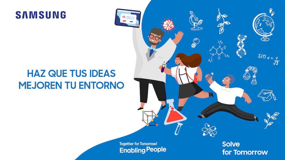 Concurso de Samsung con proyectos de Ciencia y Tecnología