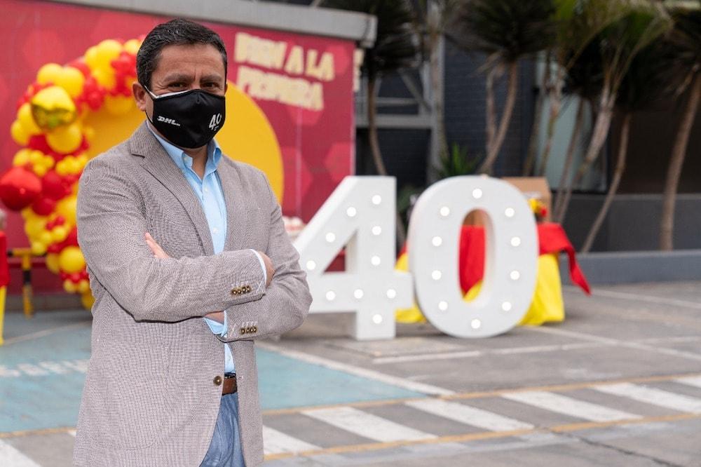 DHL Express cumplió 40 años en Perú