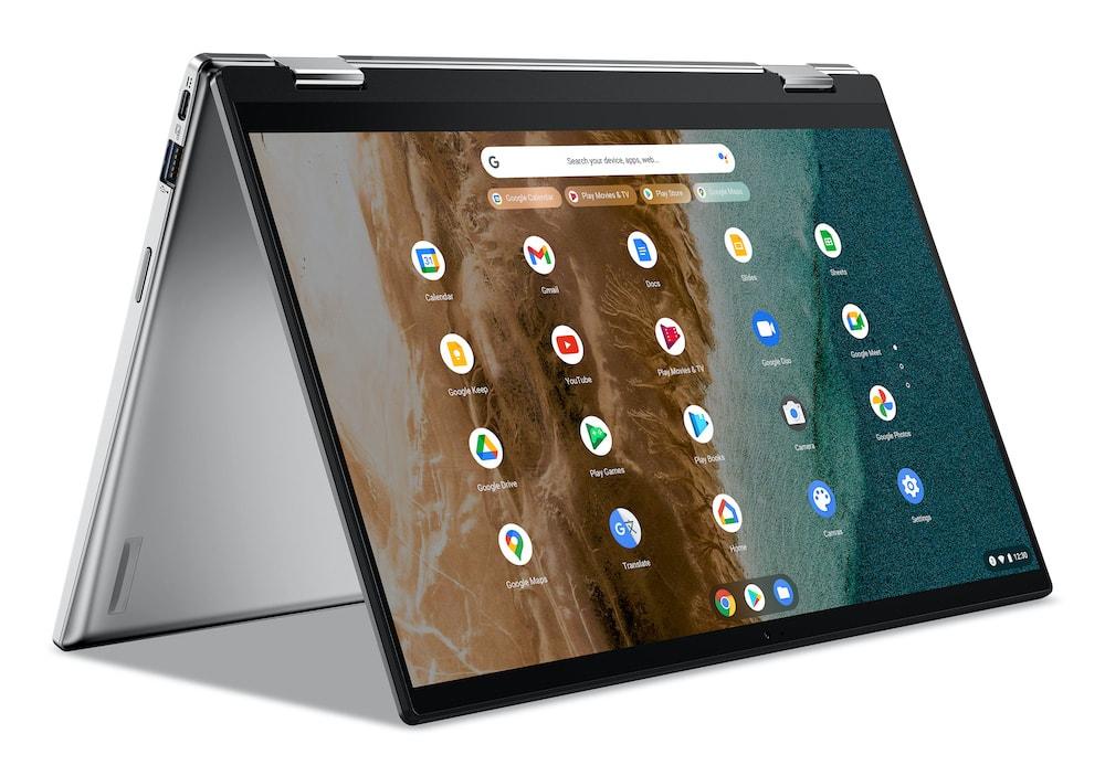 Acer presentó sus nuevas Chromebooks de pantalla grande