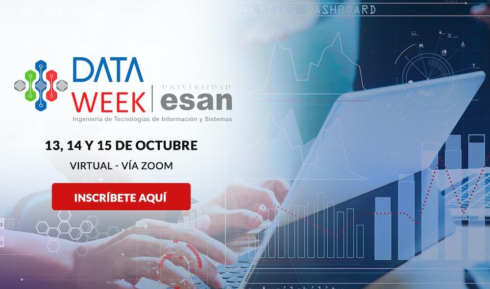 Data Week: Aprende sobre la ciencia de datos