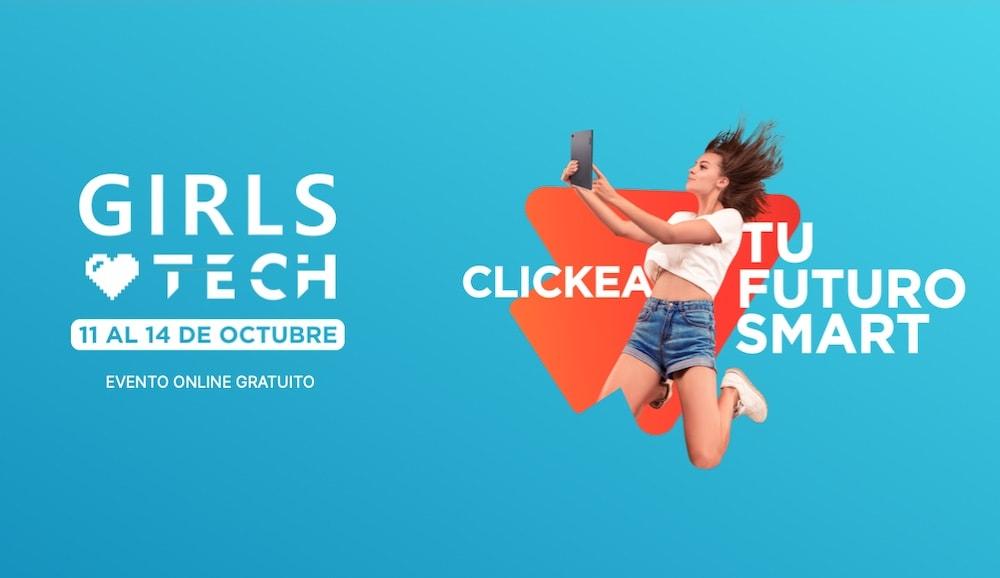 Iniciativa 'Girls love Tech' promueve las carreras STEM