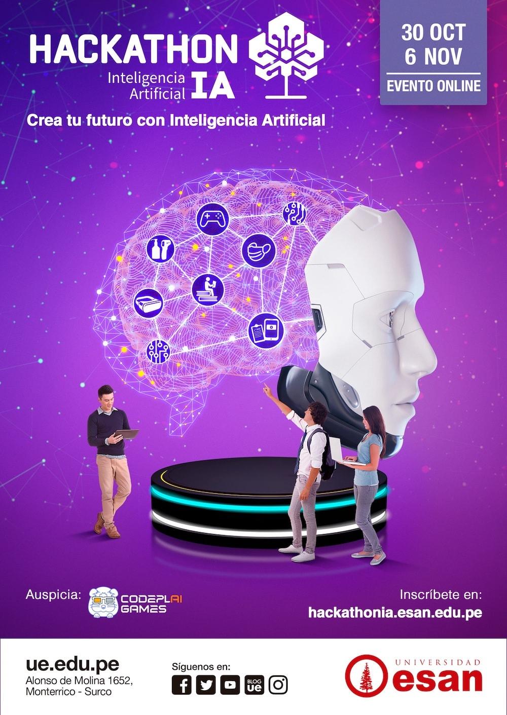 Hackathon de Inteligencia Artificial impulsar la educación básica