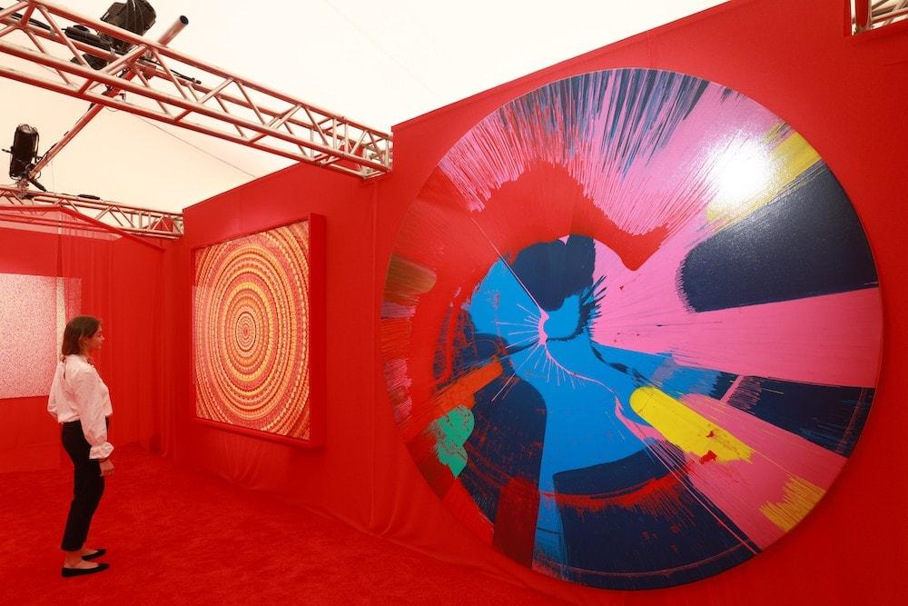 LG presenta en Londres proyectos de arte inspirados en OLED