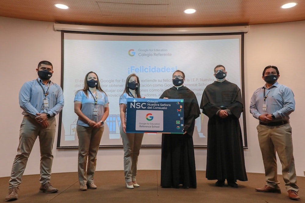 Colegio peruano recibe certificación Google Reference School