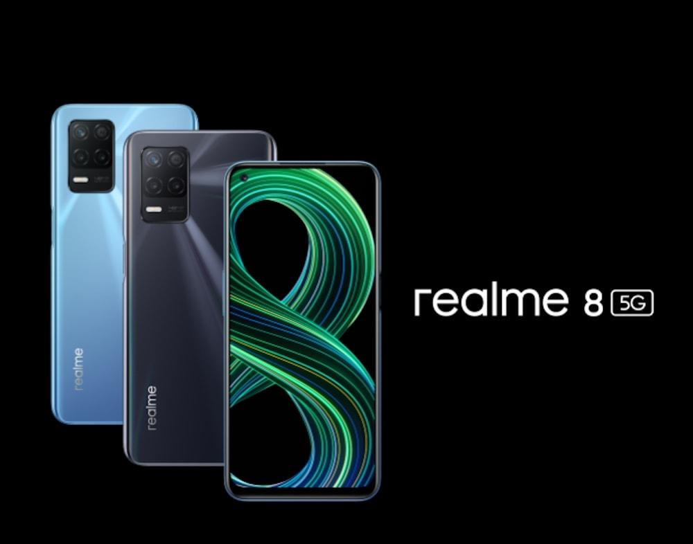 Realme 8 5G ingresará al mercado local en los próximos días